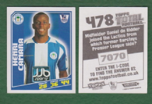 Wigan Athletic Henri Camara Senegal 478
